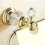 OWOFAN Toilet Paper Holder Wall Mount Solid Brass