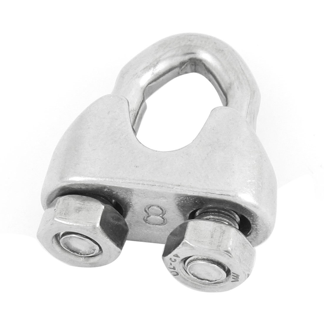 uxcell 5.7mm Thread Fastener U Shape Bolt Clamp Clip for 10mm 5/16 ...