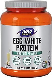 Now Sports Egg White Protein Powder