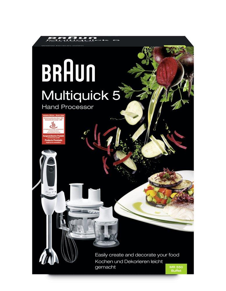 Braun - Batidora Multiquick 5 MR 550 Buffet