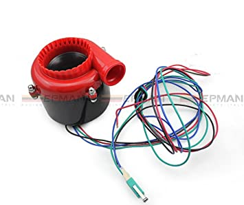 Universal Coche Fake Válvula de descarga electrónico Turbo Blow Off Valve BOV de sonido Sound Blow