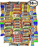 EVA Healthy Snacks and Bars Variety Pack Gift Snack Box 56 Count)