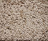 Oval 3'X5′ Indoor Frieze Shag Area Rug – Sandstone II 40 oz – plush textured carpet with Premium BOUND Polyester Edges. For Sale