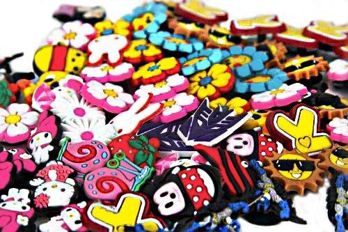 f7ae8208e32fe Lot of 100 Pcs Different Random Shoe Charms for Croc Shoes & Jibbitz Bands Bracelet  Wristband - Buy Online in Oman.   lot of 100 pcs different random shoe ...