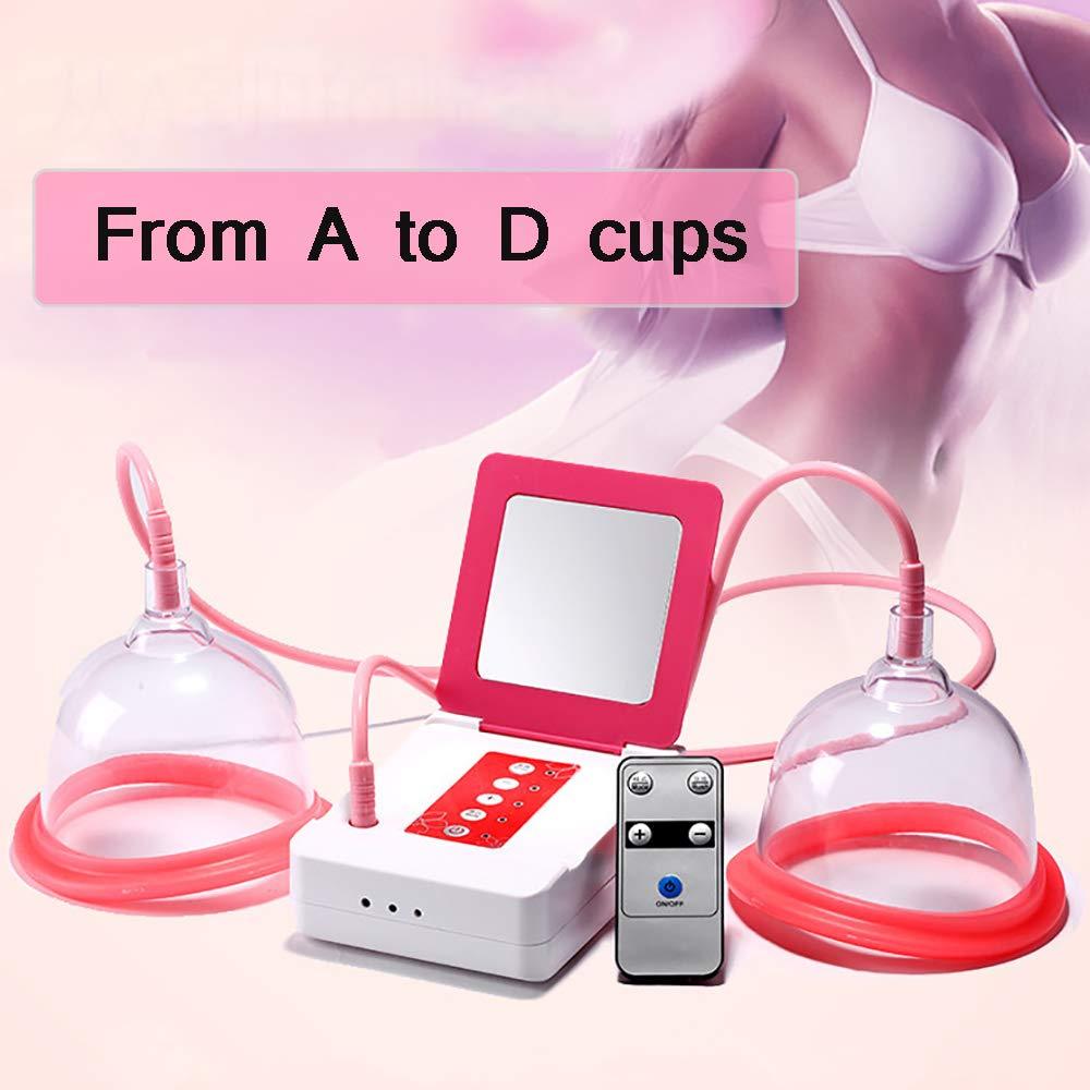 SUN RDPP Breast Massage Electric Massager Vacuum Cups Breast Massager Breast Enhancement Instrument,4 Sizes,XL by SUN RDPP
