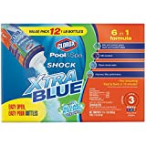 Clorox Pool&Spa 33012CLX Shock Xtra Blue, 12-Pound (3)