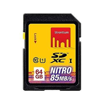 Amazon.com: De estroncio 64 GB Nitro 466 x – Tarjeta de ...