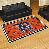Fan Mats 7058 MLB - Detroit Tigers 5' x 8' Area Rug