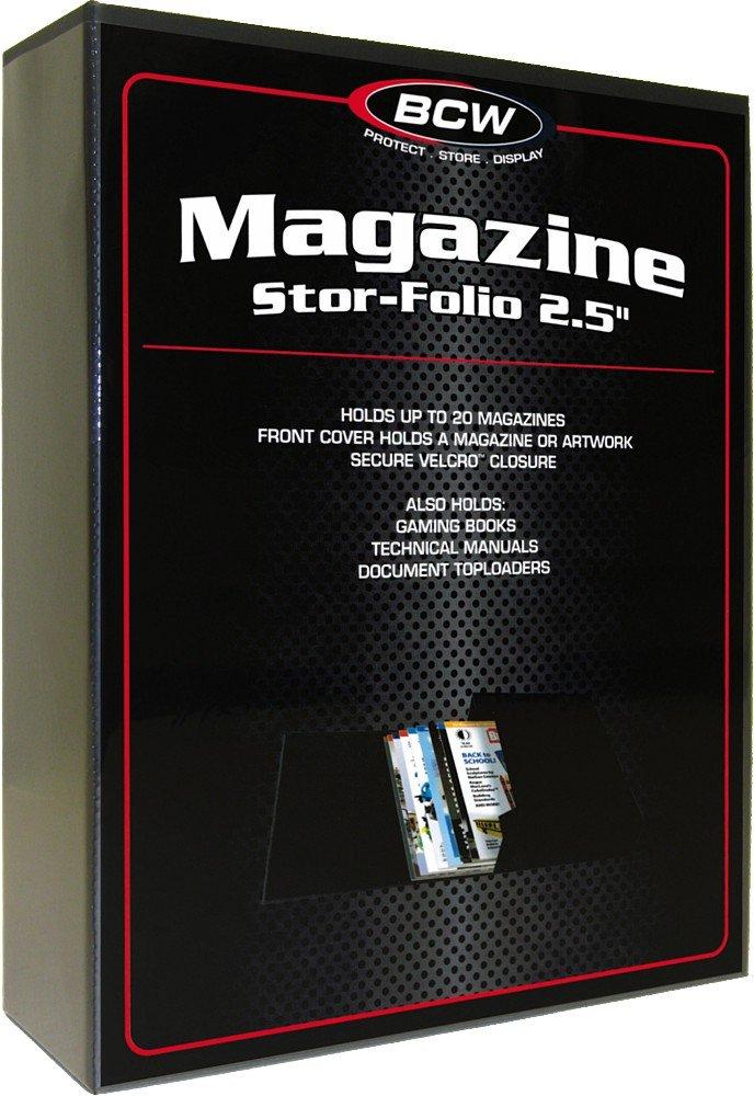 (1) Magazine Stor-Folio - 2.5 Inch Storage Box - BCW BCW Diversified BCW-SFM-25