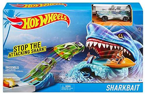 Hot Wheels Arcade Games (Hot Wheel Sharkbait Play Set)
