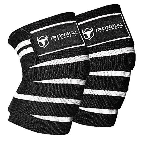 - Iron Bull Strength Knee Wraps (1 Pair) - 80
