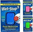 Wet-Stop3 Blu: Allarme enuresi con Suono and vibrazione per ragazzi e ragazze soluzioni per enuresi notturna allarme