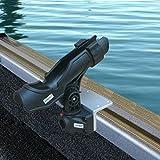 Brocraft Alumacraft Boats AlumaTrac mounting practice Fish Rod Holder