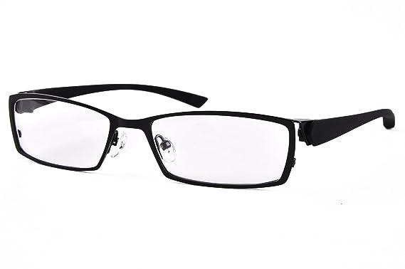 bffee6fc9d99 Agstum Mens Sport Myopia Glasses Flexible Optical Eyeglasses Frame 56mm  (Black)