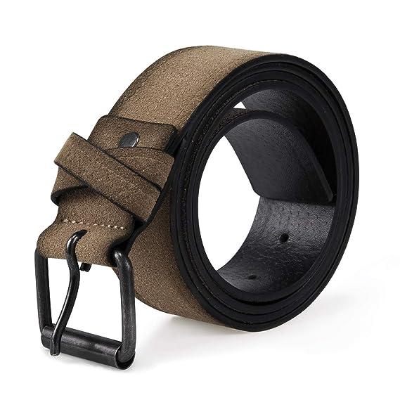 YOUTHUP - Cinturón para traje regional de hombre, de ante ...