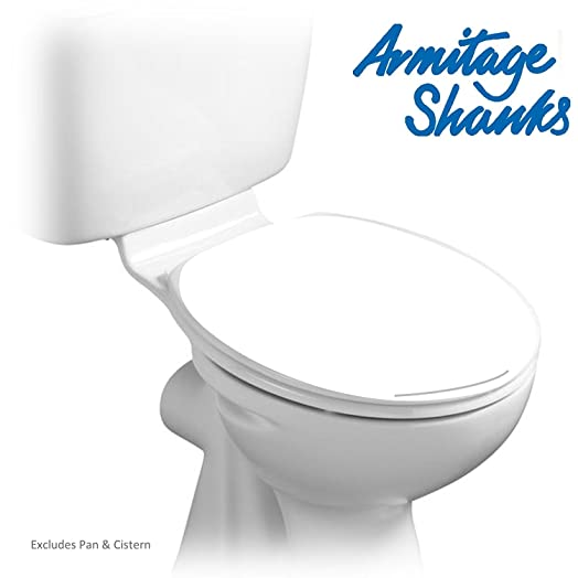 uk toilet seat sizes. Armitage Shanks S404501 White Orion 3 Toilet Seat and Cover