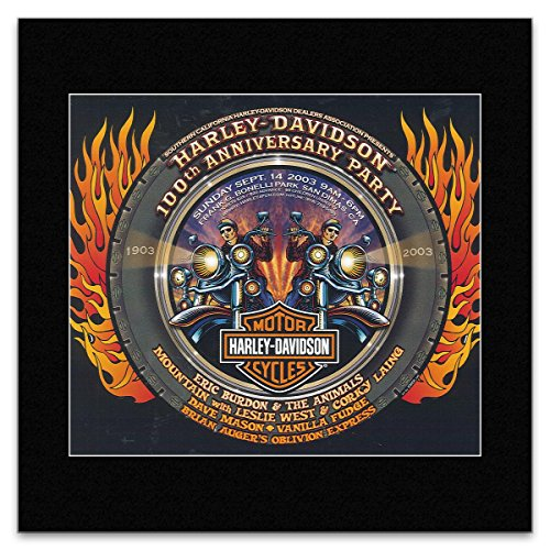 Harley 100th Anniversary - Stick It On Your Wall HARLEY DAVIDSON - 100th Anniversary 2003 Mini Poster - 19x23.6cm