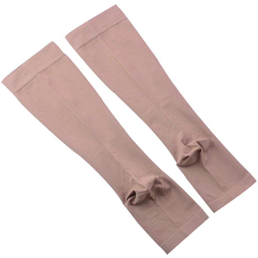 Calcetines de compresi/ón para mujer y hombre de Ailaka embarazadas recuperaci/ón altura hasta la rodilla de 20-30 mm ofrece soporte para v/árices