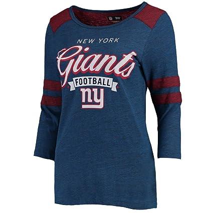cee6be511 Amazon.com   New York Giants Womens Football Banner Long Sleeve T ...
