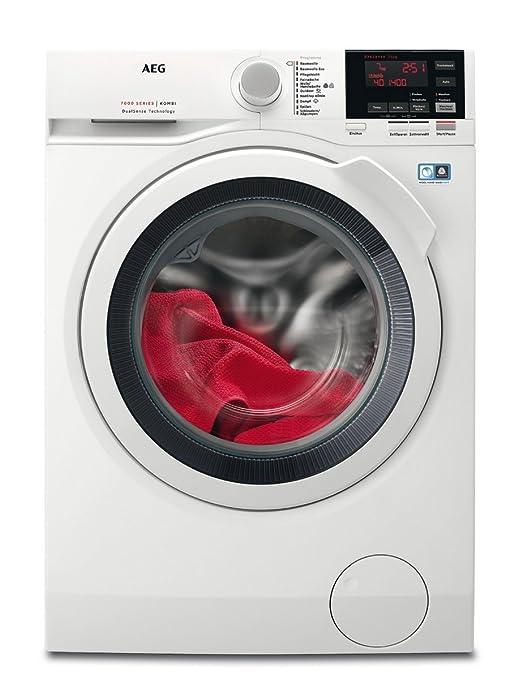 AEG L7WB64474 Waschtrockner / DualSense – schonende Pflege / 7,0 kg Waschen / 4,0 kg Trocknen / Energiesparend / Mengenautoma