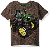 John Deere Toddler Boys' T-Shirt, Brown Heather, 3T