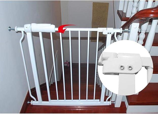 XJJUN-Barrera de seguridad Puerta for Mascotas Súper Ancha Y Alta Protección De Aislamiento De Puerta De Escalera De Metal De Seguridad Interior, El Tamaño Se Puede Personalizar: Amazon.es: Hogar