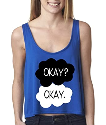 The Fault in Our Stars Merchandise : BOXY Tank Top