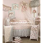 Cotton-Tale-Designs-Tea-Party-8-Piece-Nursery-Crib-Bedding-Set-100-Cotton-Shabby-Chic-Soft-Colorful-Vintage-Floral-and-Paisley-with-Ruffle-and-Rose-Bud-Fur-Baby-Shower-Gifts-for-Girls