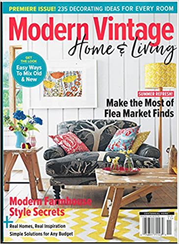. Modern Vintage Home   Living Magazine Premiere Issue 2018  Various