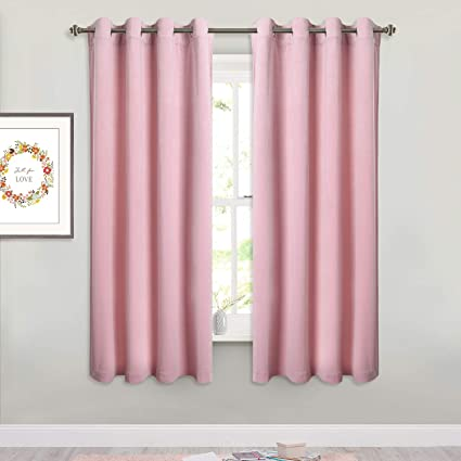 Amazoncom Pink Velvet Curtains For Nursery Soft And Smooth Royal