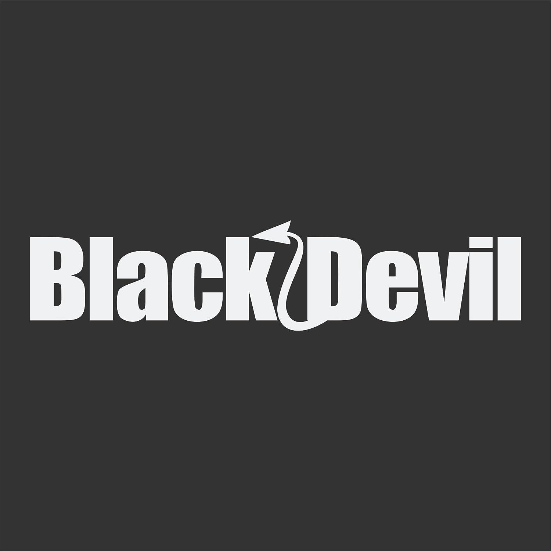 INNEN klebe Black Devil Auto Aufkleber Scheiben Tuningsticker Schwarzer Teufel