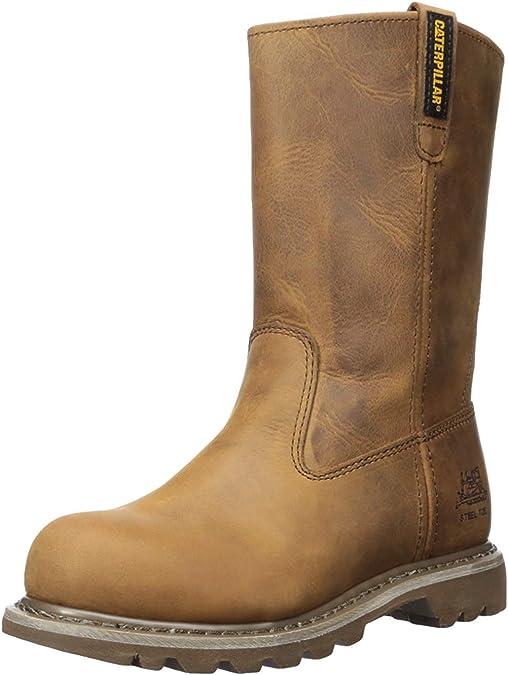 steel toed cowboy boots women - caterpillar