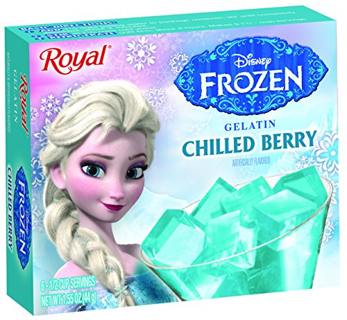 - Royal Frozen Gelatin, Elsa Chilled Berry, 1.55 Ounce (Pack of 12)
