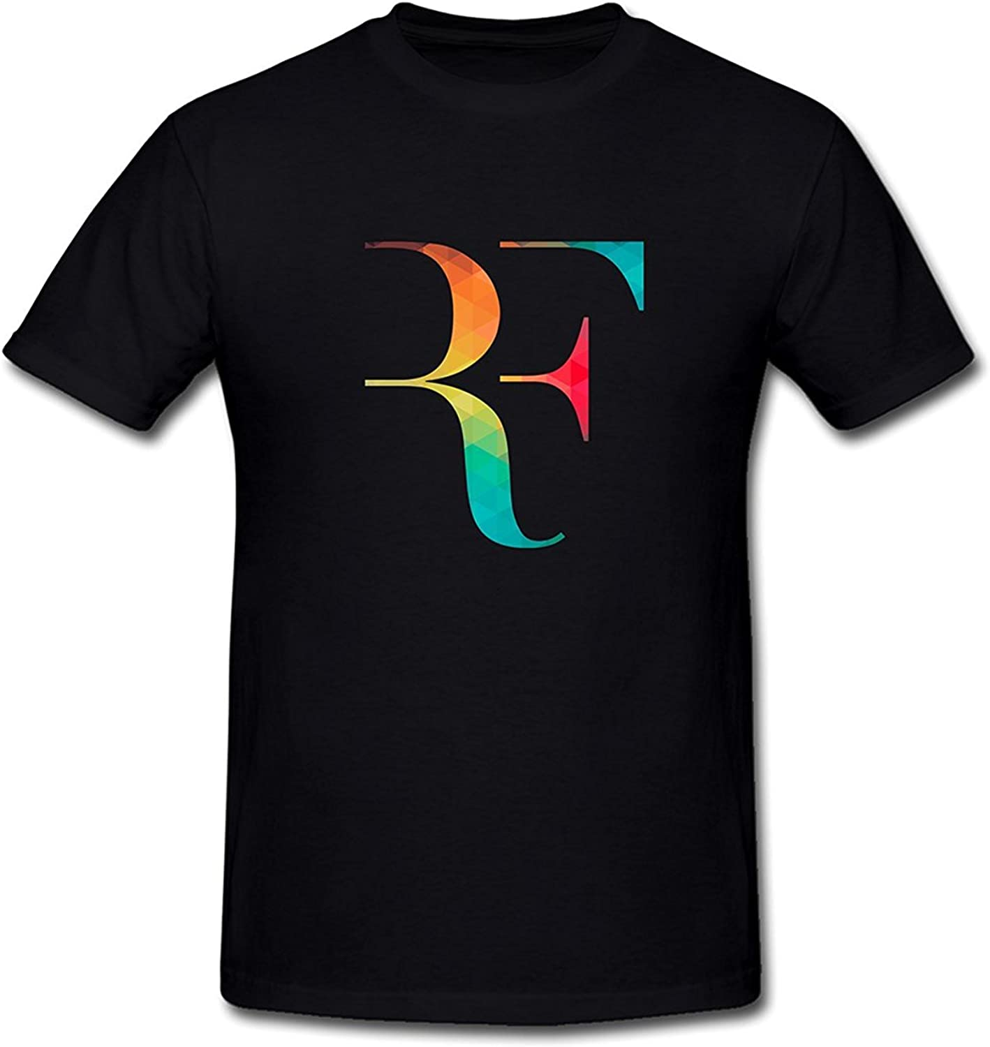SEagleo2 Mens Roger Federer RF Logo T-Shirt Sizes S-3XL Xxlarge ...