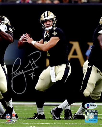 f17acfab9bea Image Unavailable. Image not available for. Color  Taysom Hill Autographed  8x10 Photo New Orleans Saints ...