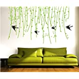 Decals Design 'Sofa Green Vine' Wall Sticker (PVC Vinyl, 50 cm x 70 cm)