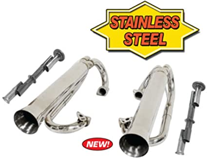 Amazon com: Empi 56-3759 Stainless Buggy Dual Racing Exhaust System