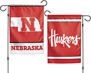 "WinCraft Nebraska Cornhuskers 12""x18"" Garden Flag"