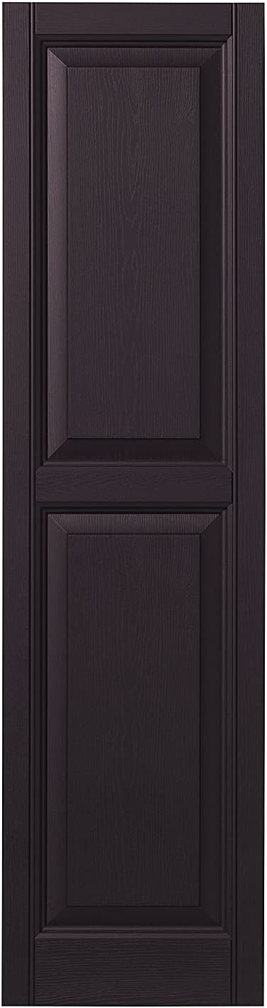 Ply Gem Shutters and Accents VINRP1559 41 Raised Panel Shutter 15 Blue