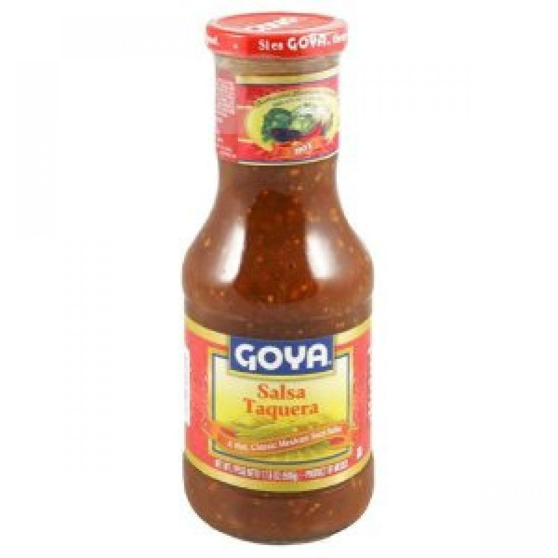 Goya Salsa Taquera 17.6 oz Bottle