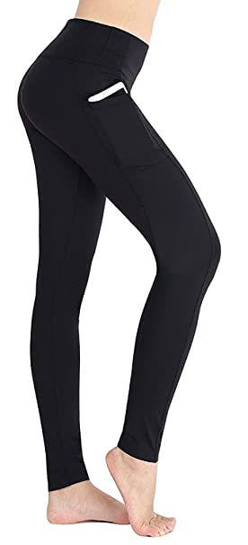 db82a3f622be23 EAST HONG Women's Yoga Leggings Exercise Workout Pants Gym Tights (Black,  ...