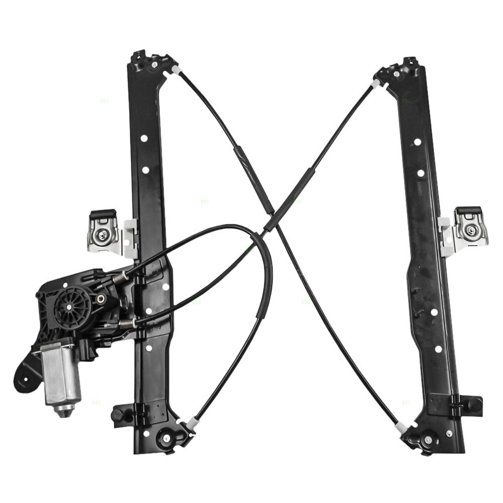 Passengers Rear Power Window Lift Regulator Motor Gm 3500 Engine Belt Diagram Assembly Replacement For Chevrolet Cadillac Gmc Pickup Truck 19301980 Automotive