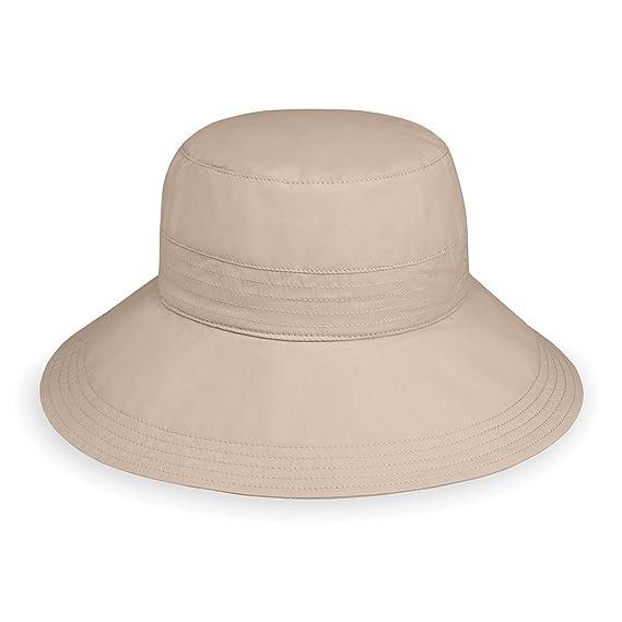 6f986ba5ad5 Wallaroo Women s Piper Hat - UPF 50+ - Packable - One Size (Beige ...