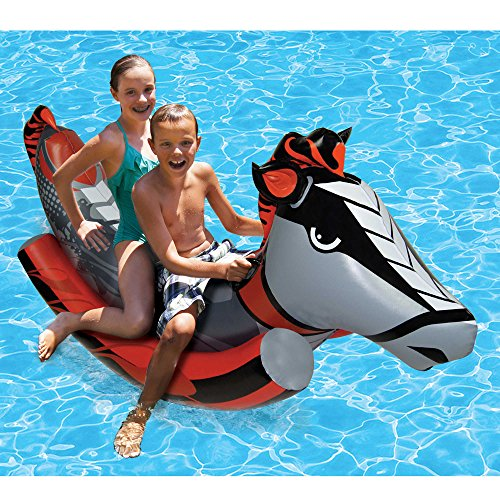 Poolmaster 2-Person Rockin' Horse Inflatable Swimming Pool Float