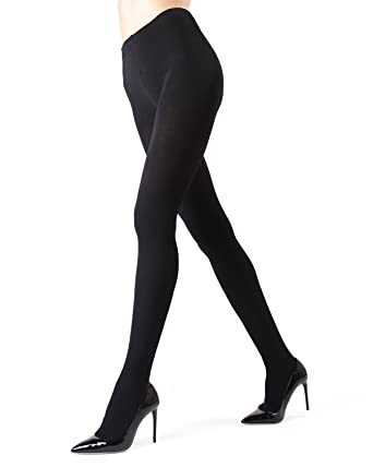 03f3e522b307de MeMoi Plush Lined Tights | MeMoi Tights - Hosiery - Pantyhose Black MO 340  Small/