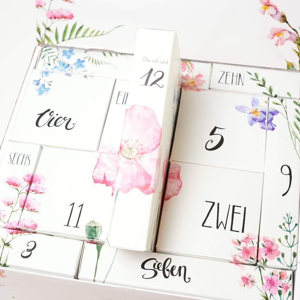Verw/öhnbox f/ür werdende Mamas Mami Countdown Kalender