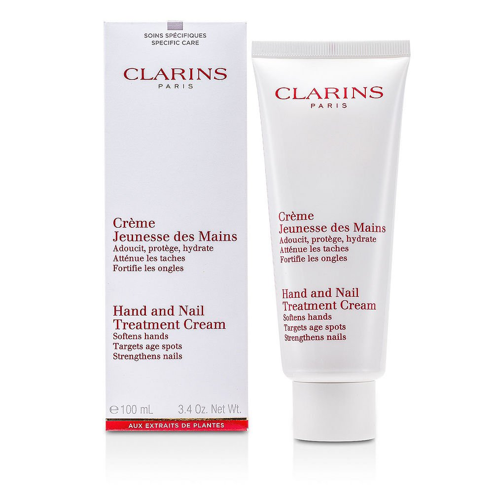 Clarins by Clarins Hand & Nail Treatment Cream--100ml/3.5oz for WOMEN ---(Package Of 3)