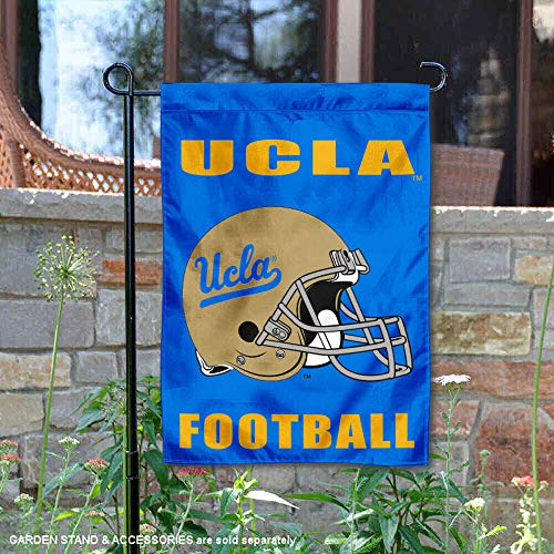 College Flags and Banners Co. University of California Los Angeles Football Helmet Garden Flag
