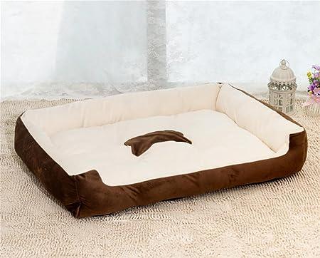 Ange Cama para Perro Lavable fácil de Limpiar Cama para Mascota Rectangular/Nido: Amazon.es: Deportes y aire libre