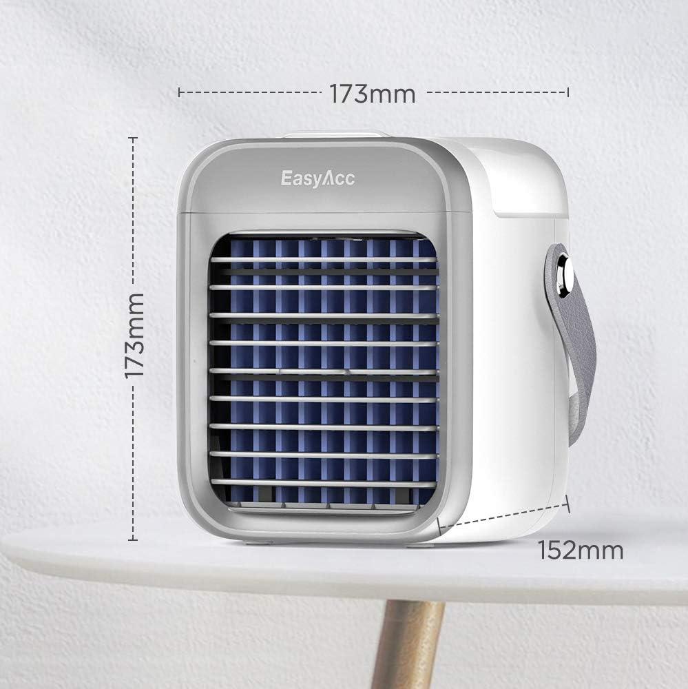 Ventilador de aire acondicionado, Ventilador portátil, Mini ...